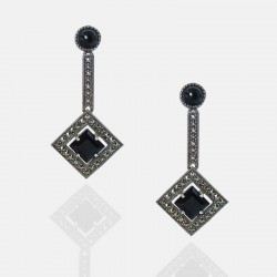 ISIMO EARRINGS STERLING SILVER