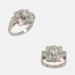 ROSALINE RING DIAMONDS PLATINUM