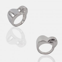 BOND RING STERLING SILVER