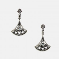 CLEOPATRE EARRINGS STERLING SILVER