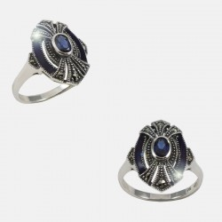 VICTORIA RING STERLING SILVER