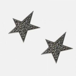 BOUCLES D'OREILLES STAR ARGENT 925/000