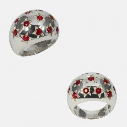 BOULE RING STERLING SILVER