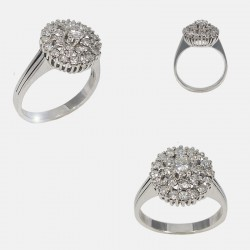 BOUQUET RING DIAMONDS 18K GOLD