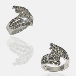 ZIGZAG RING STERLING SILVER