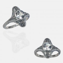 SUZON RING STERLING SILVER