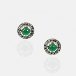 ANINA EARRINGS STERLING SILVER