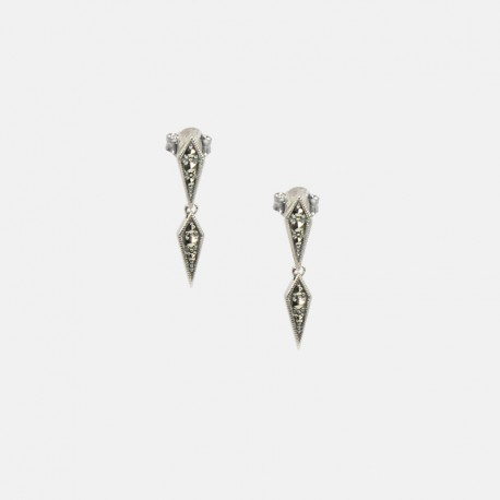 CAPINA EARRINGS STERLING SILVER