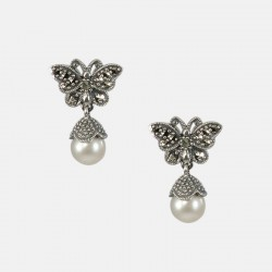 PAPILLONS EARRINGS SETRLING SILVER