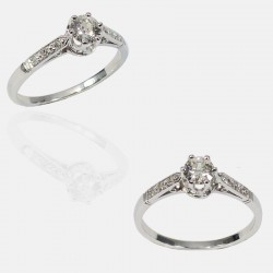 CHARME RING DIAMONDS PLATINUM