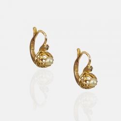 PERLA EARRINGS 18K GOLD
