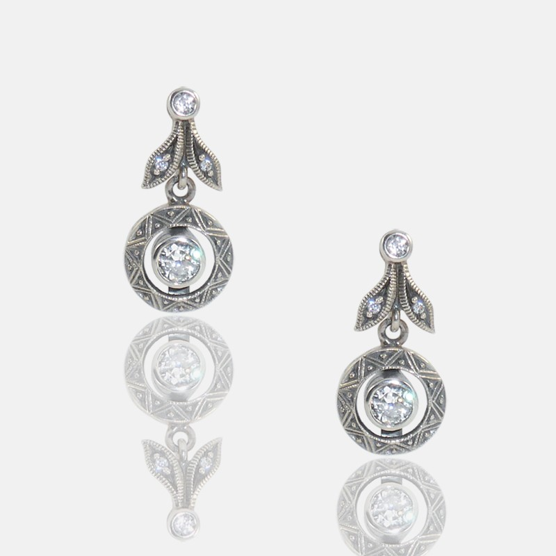 FLEURETTES EARRINGS STERLING SILVER