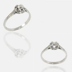 LOLI RING DIAMONDS PLATINUM/18K GOLD