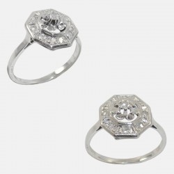 BABETTE RING DIAMONDS 18K GOLD
