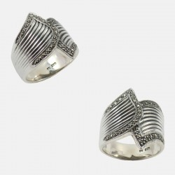 RUBAN RING STERLING SILVER