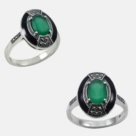 ROMA RING STERLING SILVER