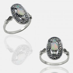 COSIA RING STERLING SILVER
