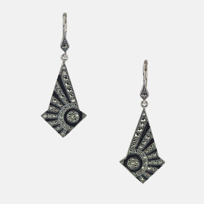 SPARO EARRINGS STERLING SILVER